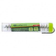 Припой с канифолью Сибртех, D 2 мм, 15 г, POS61, в пластмассовой тубе (913381)
