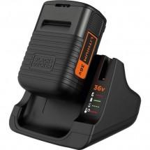Аккумулятор + быстрое зарядное устройство Black&Decker BDC2A36