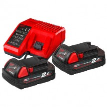 Энергокомплект Milwaukee M18 NRG-202 (4933459213)