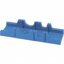 Стусло пластиковое Сибртех 295 х 65 мм, 3 угла для запила (22570)