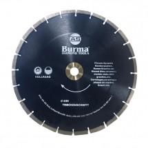 Диск алмазный Бурма сегментный (сухорез) 400 мм