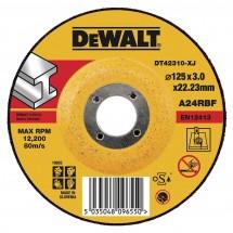 Круг шлифовальный по металлу DeWALT DT42620Z-QZ 230*6.3*22.23 мм