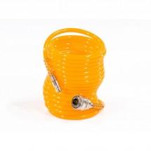 Шланг спиральный воздушный Matrix 5 м, с быстросъемными соединениями (57002)
