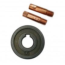 Ролик 1-1,2 с наконечником 1 мм и 1,2 мм Ресанта (71/6/41)