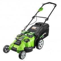 Газонокосилка аккумуляторная Greenworks G40LM49DB (2500207)