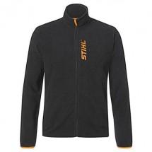 Флисовая Куртка STIHL чёрная, размер 44 (0420-910-0044)