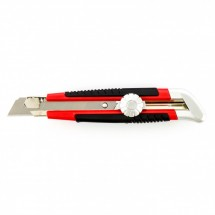 Нож Matrix 18 мм, выдвижное лезвие, винтовой фиксатор лезвия (78914)