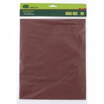 Шлифлист на бумажной основе, Сибртех P 320, 230 х 280 мм, 10 шт, влагостойкий (756167)