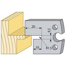 Строгальный нож Logosol 94674 HSS