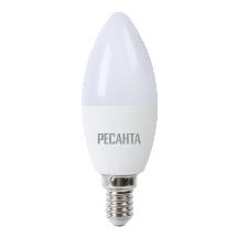 Лампа светодиодная РЕСАНТА LL-R-C37-7W-230-4K-E14  76/1/7