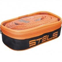 Трос буксировочный Stels 10 тонн, 2 крюка, сумка на молнии (54383)