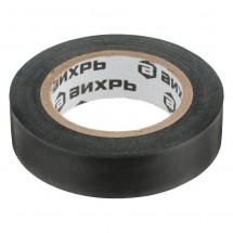 Изолента ВИХРЬ (19mm*20m*0,15mm) чёрный (73/3/3/3)