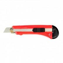 Нож Matrix 18 мм, выдвижное лезвие, металлическая направляющая (78918)