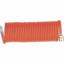 Шланг спиральный воздушный Matrix 15 м, с быстросъемными соединениями (57006)