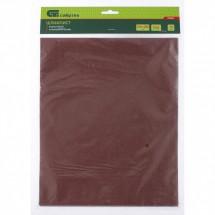 Шлифлист на бумажной основе Сибртех P 80, 230 х 280 мм, 10 шт, влагостойкий (756067)