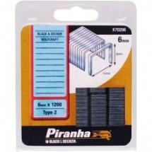 Скобы Piranha X70206
