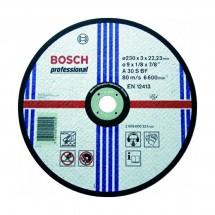 Диск отрезной по нержавеющей стали Bosch 230*22,23*2 мм