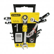 Набор ключей гаечных комбинированных Stanley (4-91-444) «Maxi Drive»