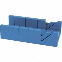 Стусло пластиковое Сибртех 300 х 100 мм, 4 угла для запила (22572)