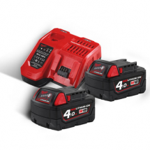 Энергокомплект Milwaukee M18 NRG-402 (4933459215)